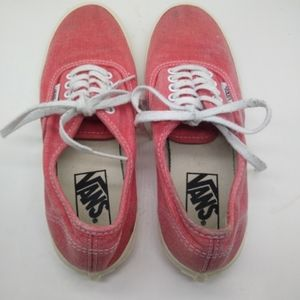 Van's Classic Pink Sneakers Women's 6